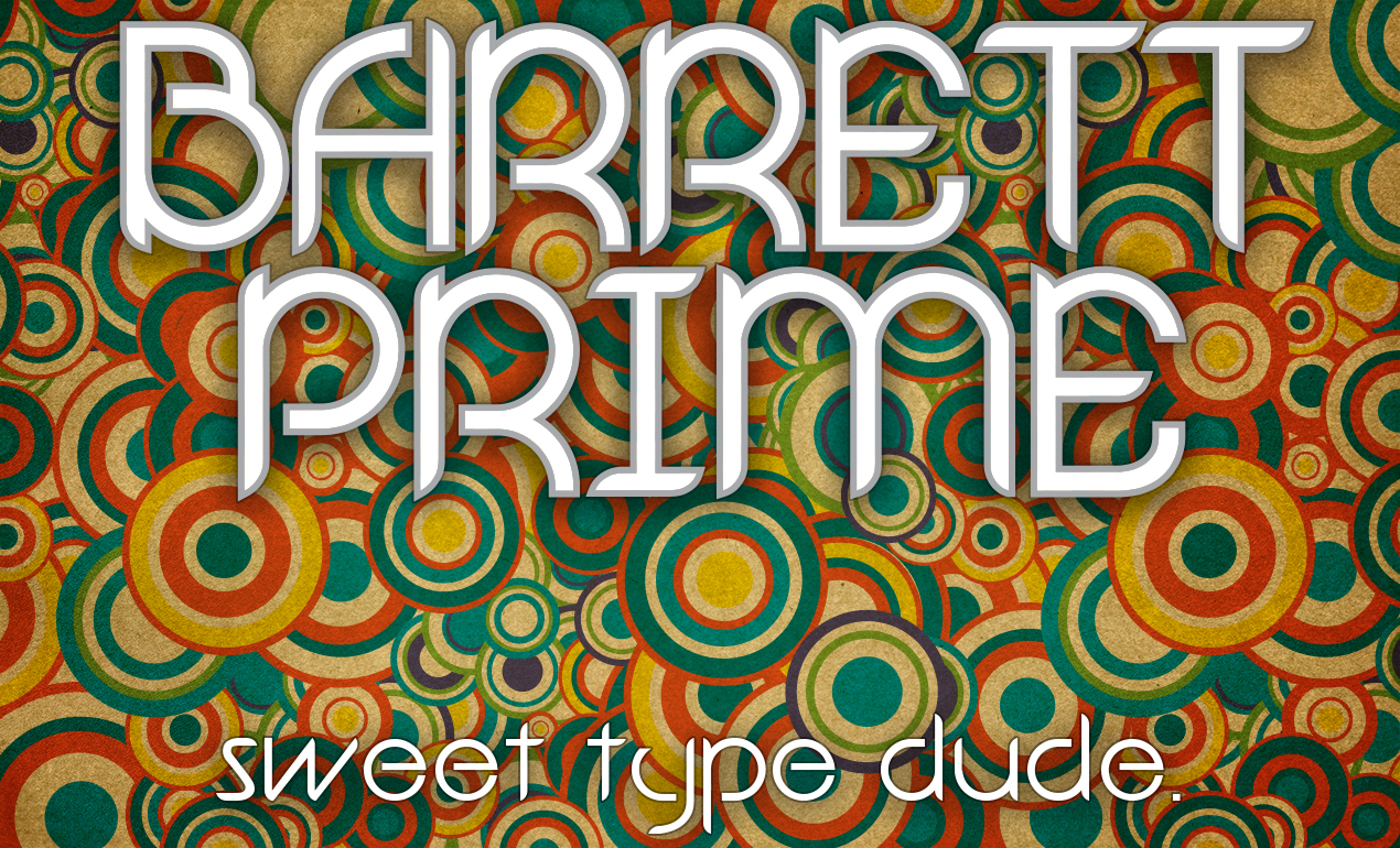 Barrett Prime Vintage Font by Go Media's Arsenal