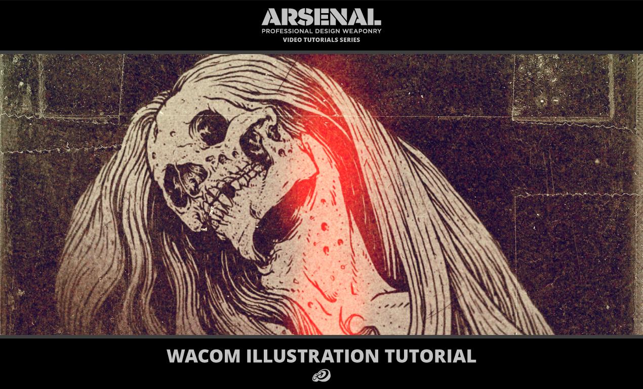wacom illustration video tutorial
