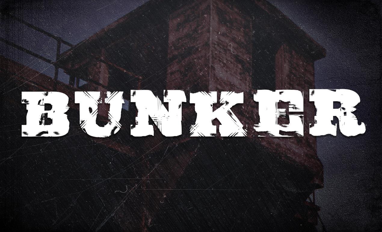 Bunker Serif Font
