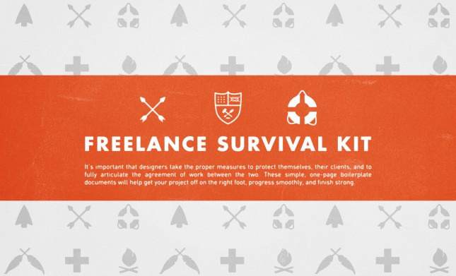 Freelance Survival Kit - Freelance Graphic Design Tools