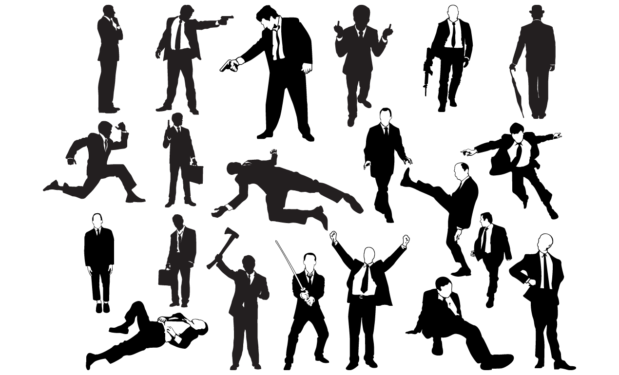 Suits Vector Pack