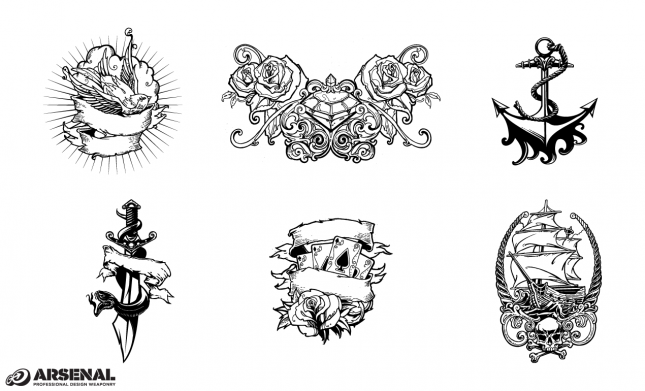 Set 22 Tattoos Previews All