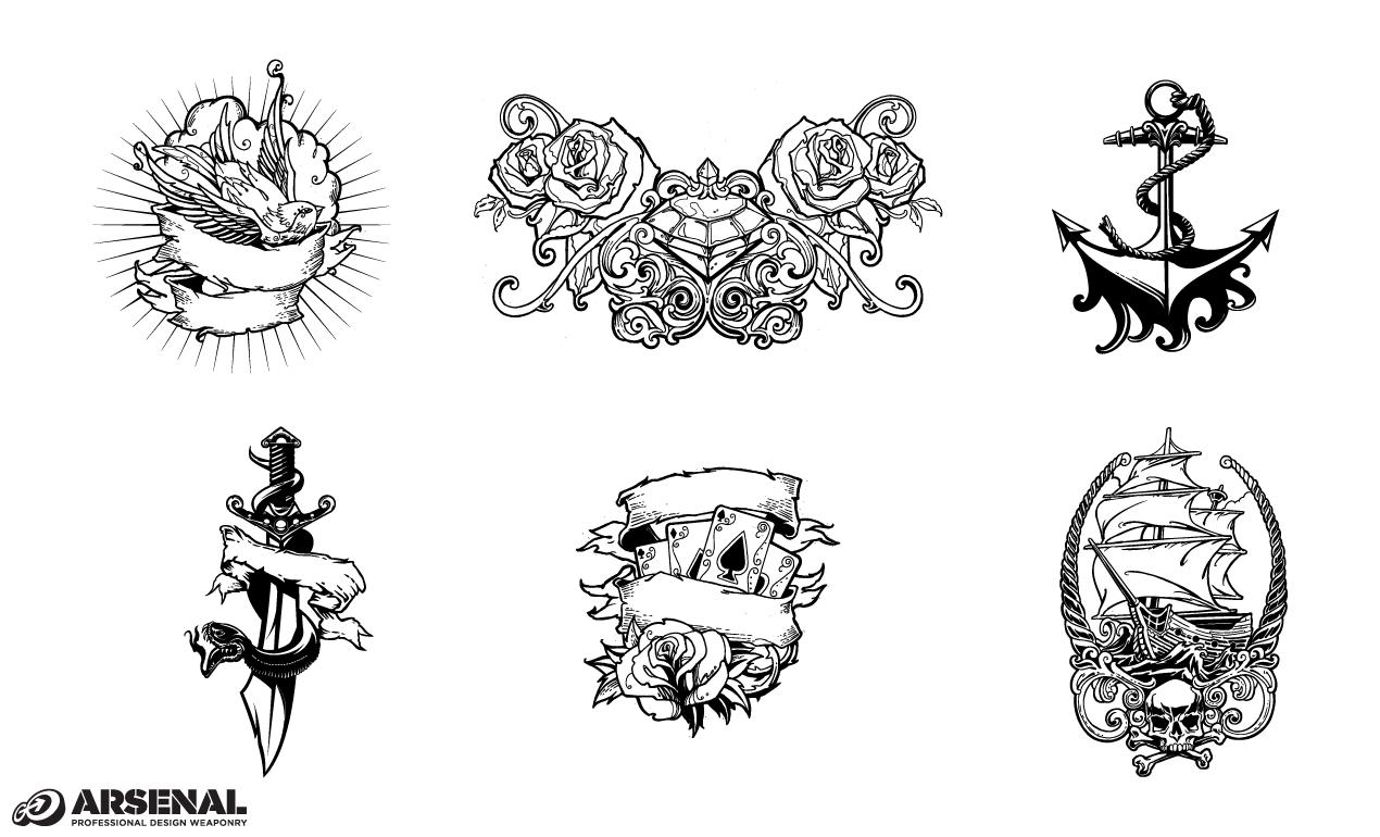 Set 22 Tattoos Previews All