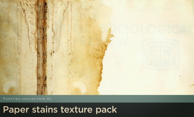 Paper Stains Texture Pack