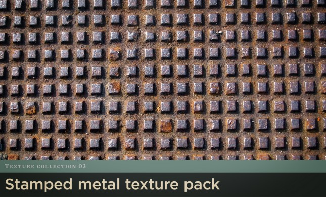 Stamped Metal Texture Pack