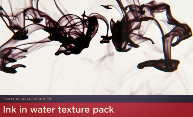 Ink in Water Texture Pack by Go Media's Arsenal