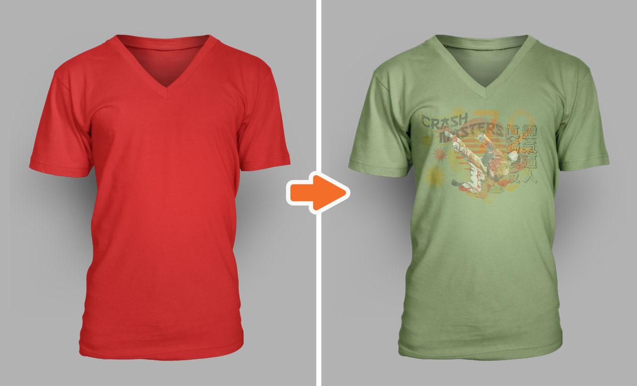 Mens T shirt mock Up Graphicriver