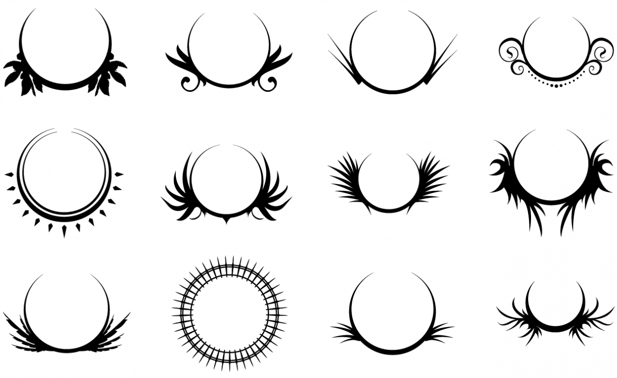 Crests Vector Pack