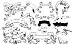 Adobe Illustrator Scroll Banner Vector Pack