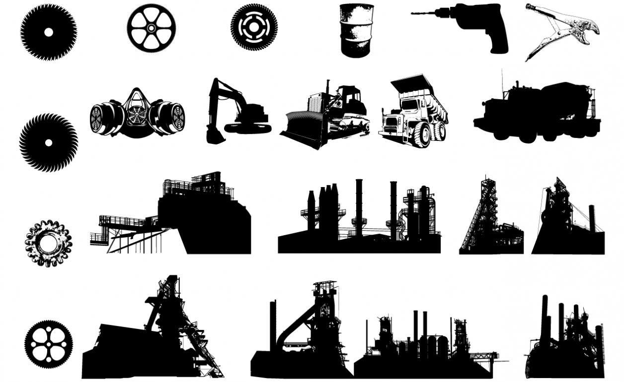Industrial Vector Pack