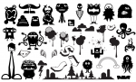 Cute Monster Vector Pack for Adobe Illustrator