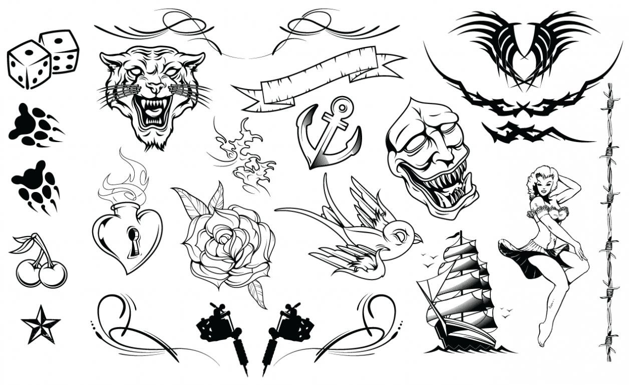 Tattoos Vector Pack
