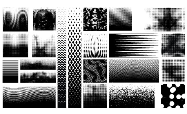 Halftone Pattern Vector Pack for Adobe Illustrator