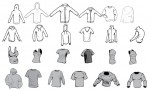 apparel vector pack for Adobe Illustrator