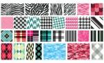Textile Patterns Vector Pack for Adobe Illustrator