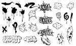 Graffiti Vector Pack for Adobe Illustrator