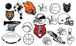Varsity Sports Vector Pack for Adobe Illustrator
