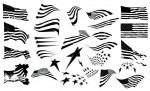 Adobe Illustrator Vector Set 19 Patriot Preview All