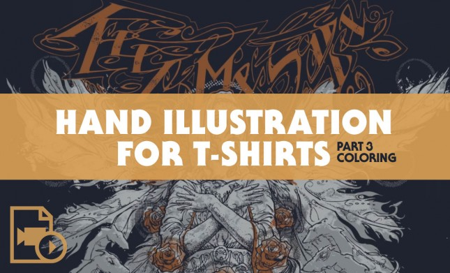 Hand Illustration for T-Shirt Design Tutorial