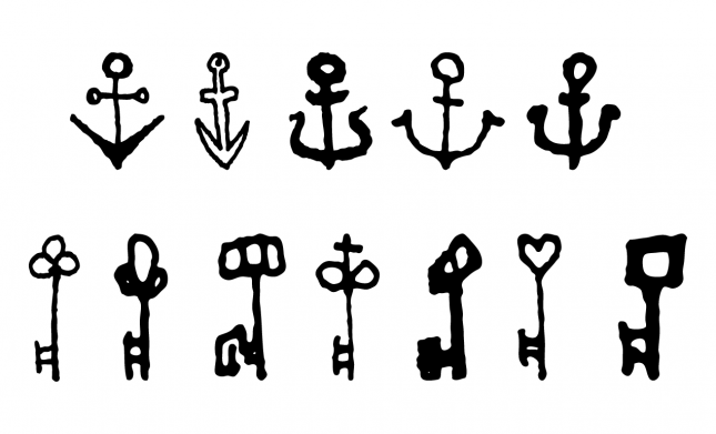 Anchor and Key Vectors Pack