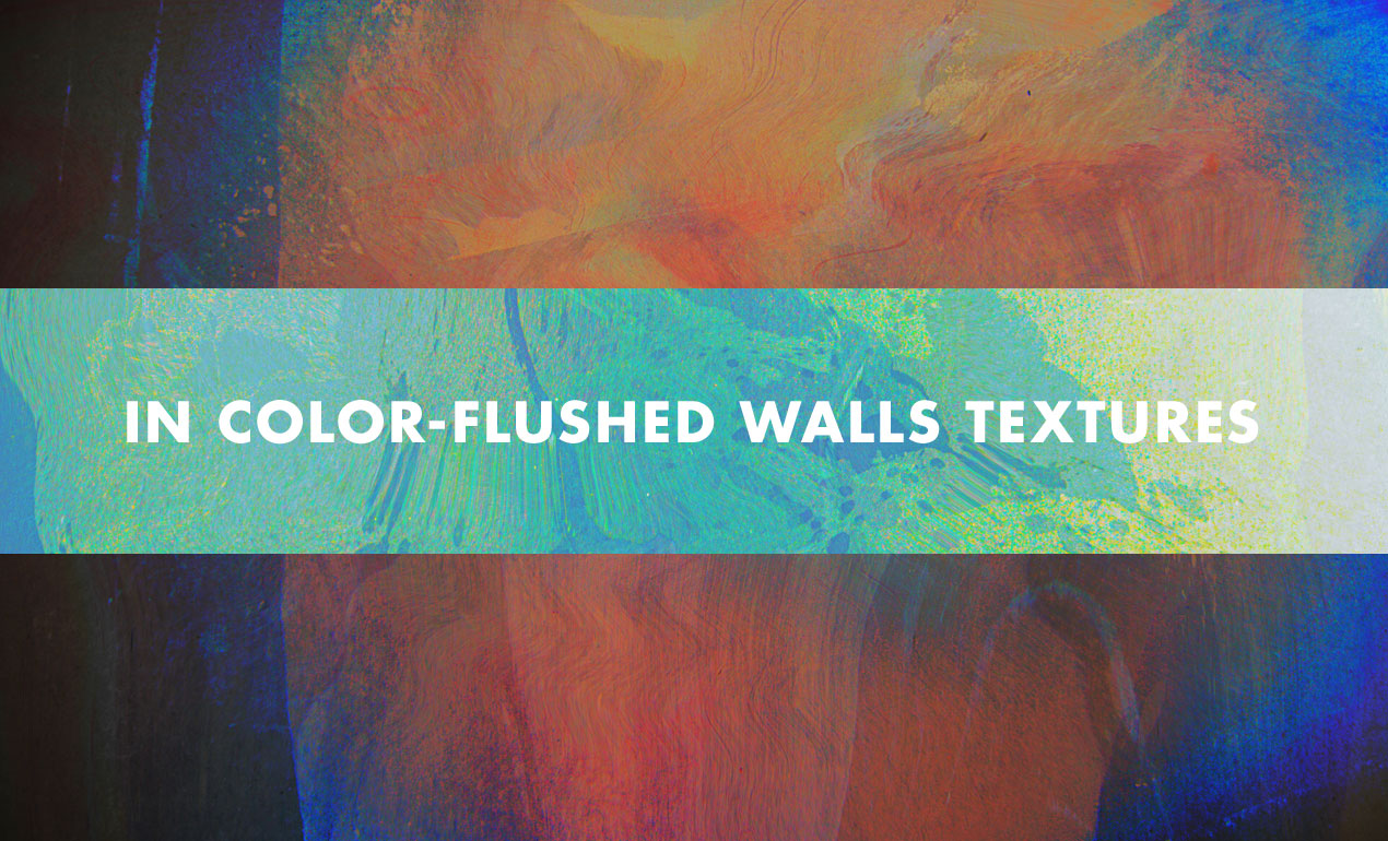 Color Flushed Walls Watercolor Texture Pack