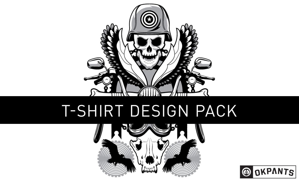 road hog custom vector shirt design pack