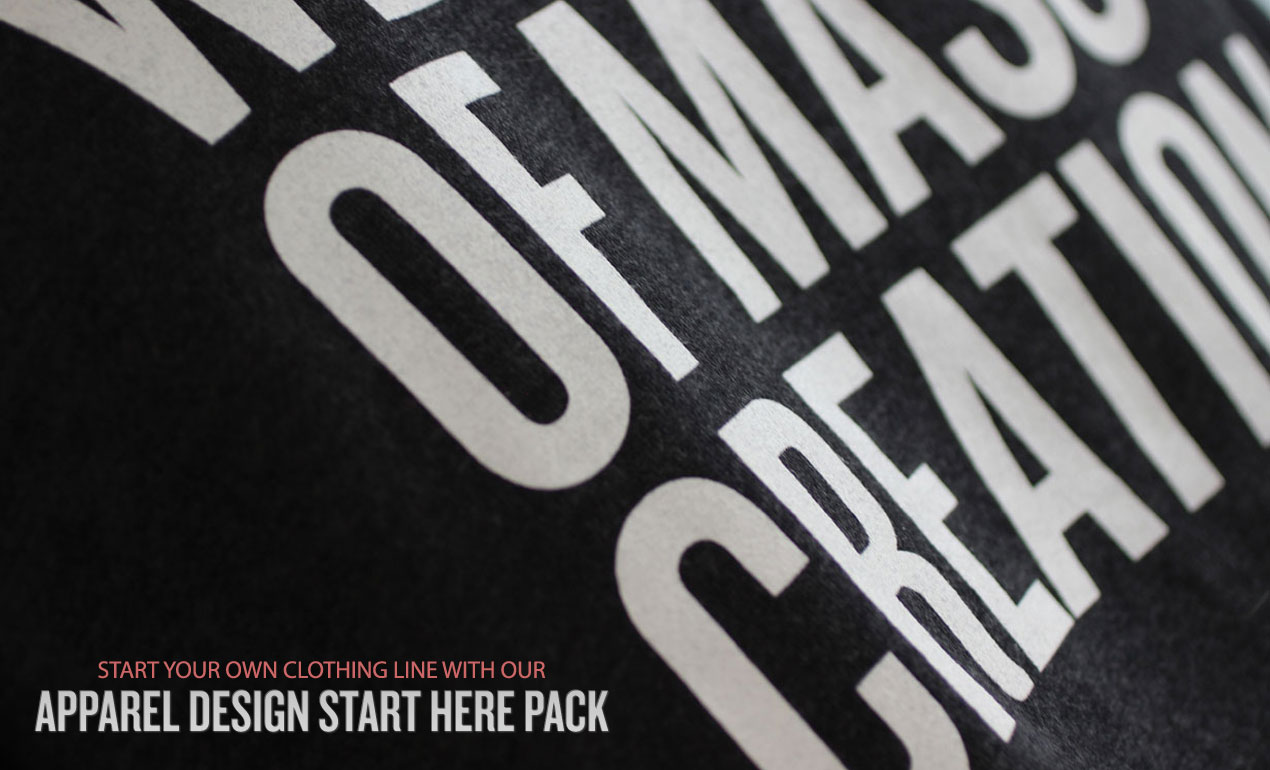 Start Your Own Clothing Line With Your Apparel Design Start Here Pack   Go Media's Arsenal   Hero